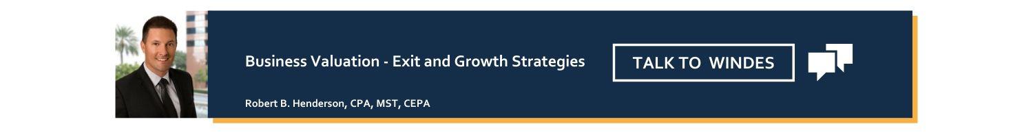 Business planning and exit strategy services